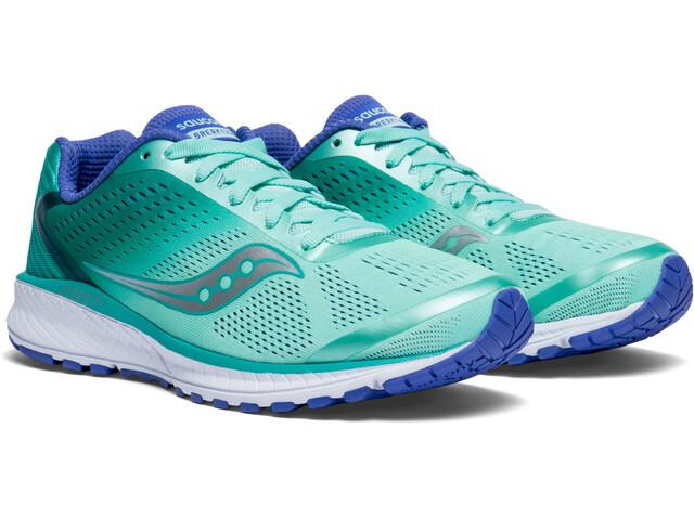 saucony Breakthru 4 Shoes Women Aqua/Violet